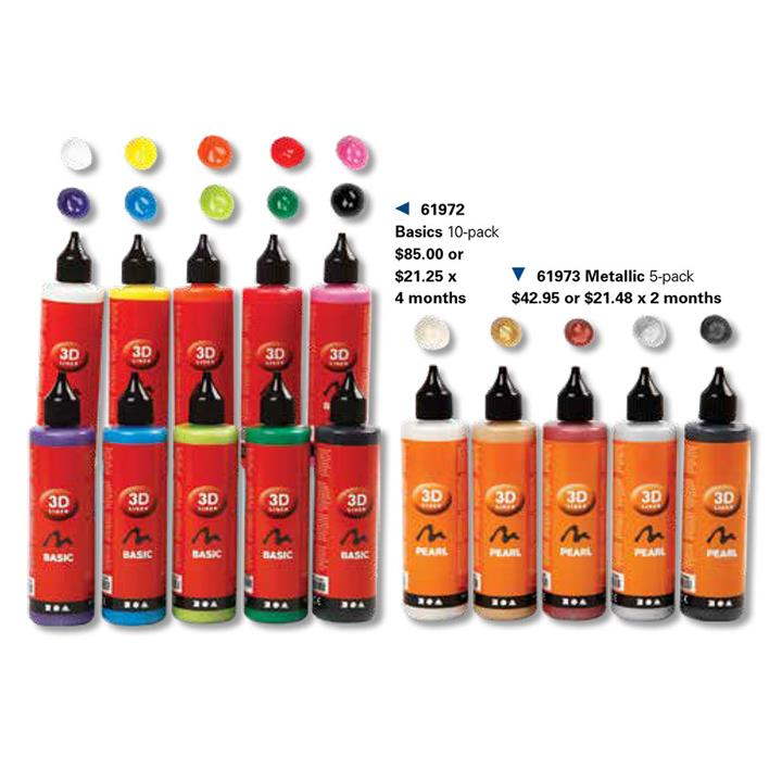 Image of 3D Liner Basic Colours 10 x 100 ml