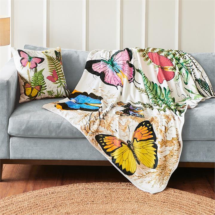 Image of Butterfly Throw