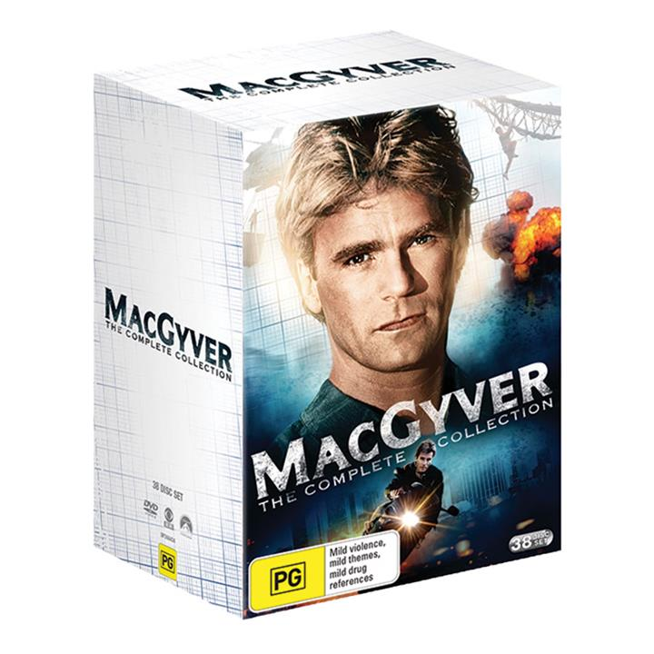 Image of MacGyver (1985)- Complete DVD Collection