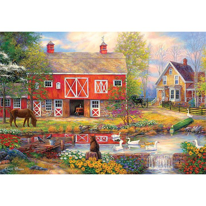 Image of Reflections On Country Living 2000 pieces - Jigsaws