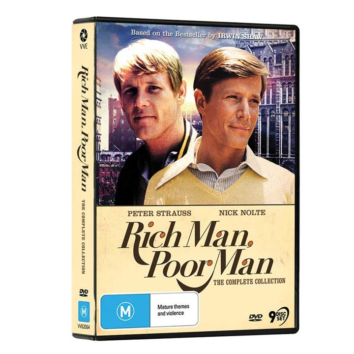 Image of Rich Man, Poor Man (1976) - Complete DVD Collection