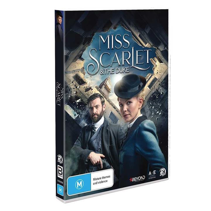 Image of Miss Scarlet and the Duke (2020) DVD