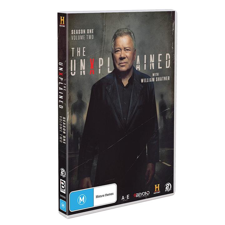 Image of The UnXplained with William Shatner - Season 1 Vol.2 DVD