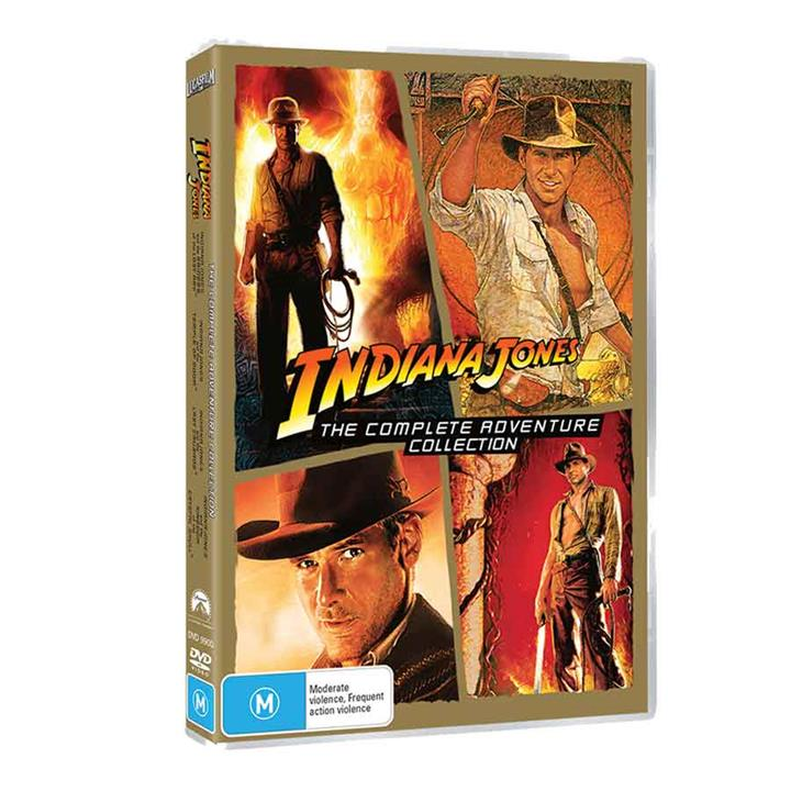 Image of Indiana Jones DVD Collection (4 Films)