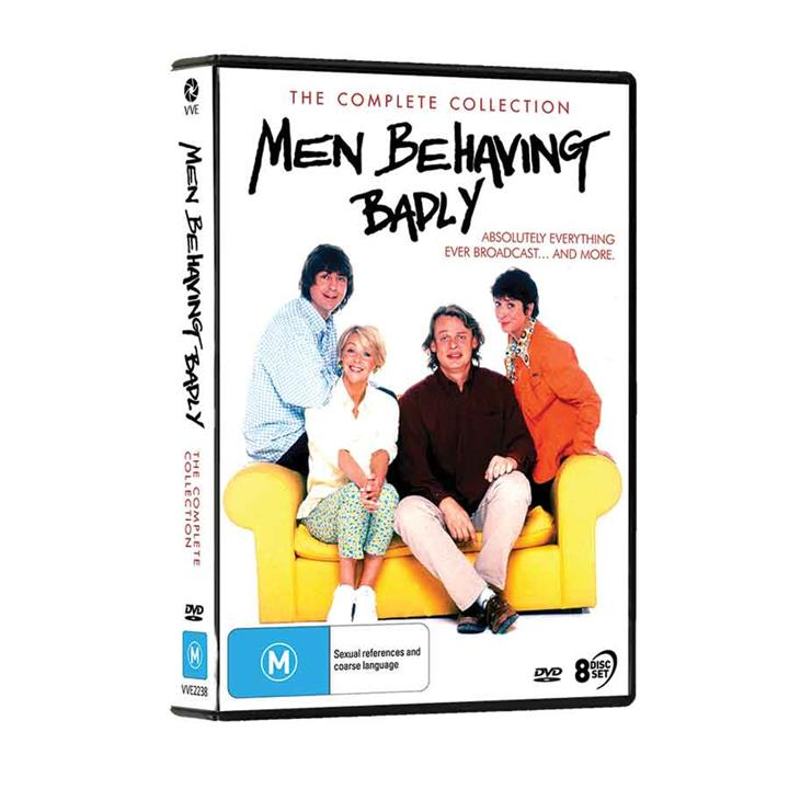 Image of Men Behaving Badly (1992) - Complete DVD Collection