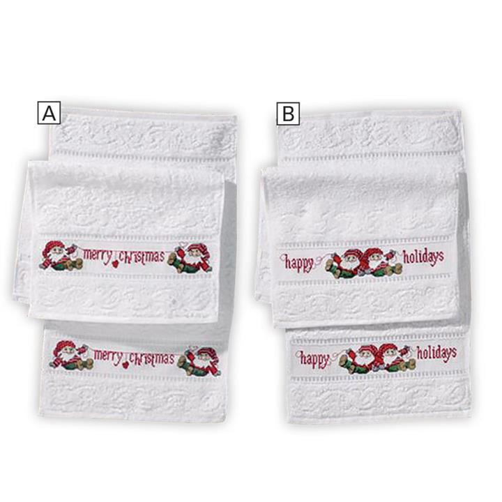 Image of Happy Holiday Towels