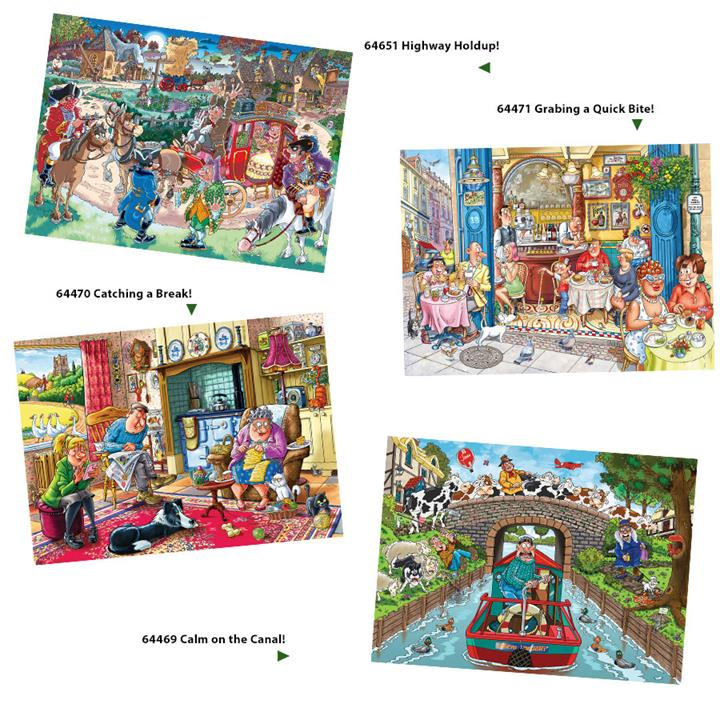 Image of Wasjig Mystery 17 - Catching A Break!! 1000 pc
