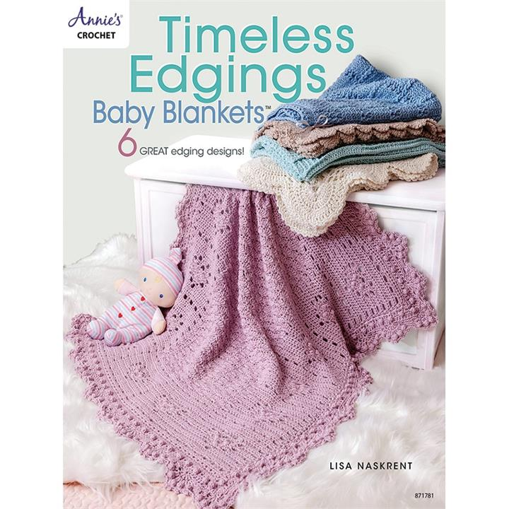 Image of Timeless Edgings Baby Blankets