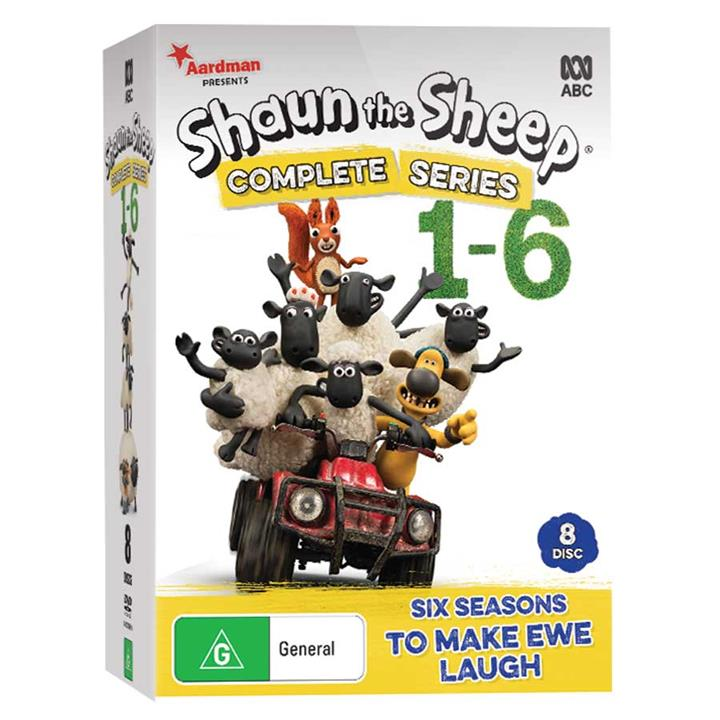 Image of Shaun the Sheep - Series 1-6 DVD Collection
