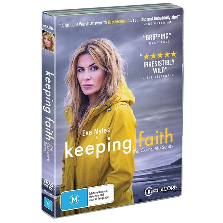 Image of Keeping Faith (2017) - Series 1&2 DVD
