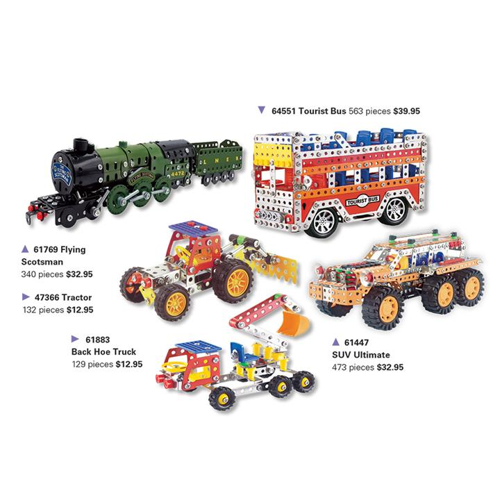 Image of Construct Kit Farm Tractor Set pieces - Craft & Hobbies