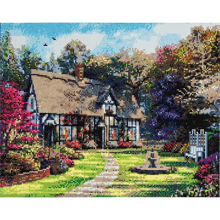 Image of Country Cottage Crystal Art
