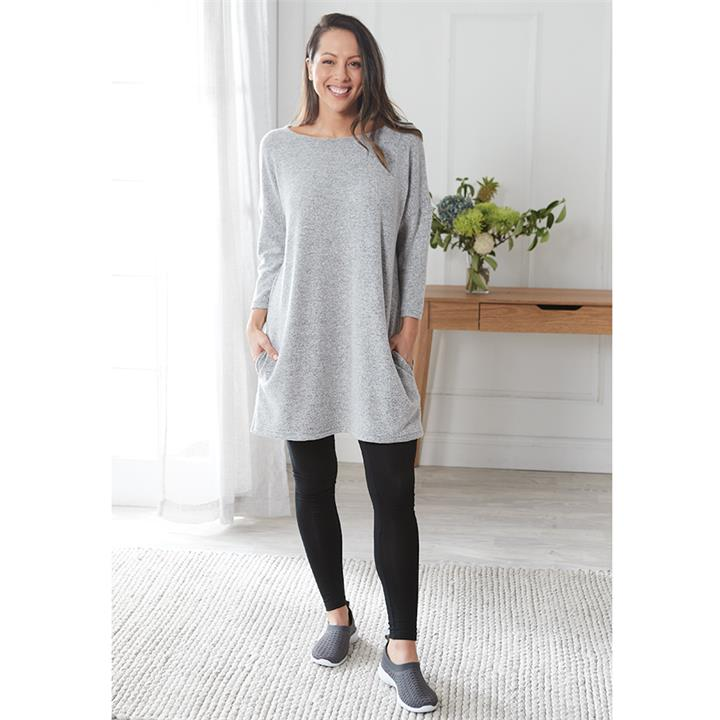 Image of Soft Touch Side Pocket Tunic