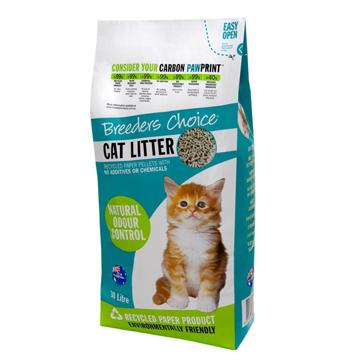 Image of Breeders Choice Cat Litter 8Kg 24L