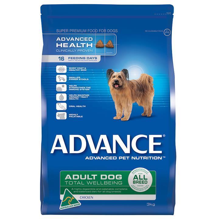 Image of Advance Dog Adult All Breeds Chicken 3Kg