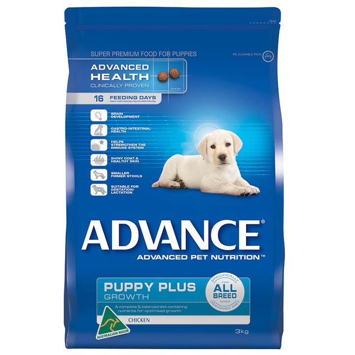 Image of Advance Puppy Plus Growth All Breeds Chicken 3Kg
