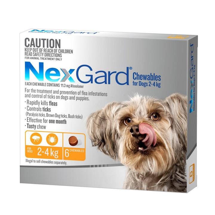 Image of NexGard 2-4kg 6 Pack