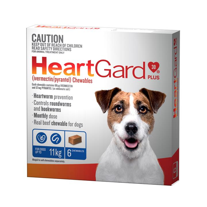 Image of HeartGard Plus for Dogs 23-45kg Brown - 6 Pack