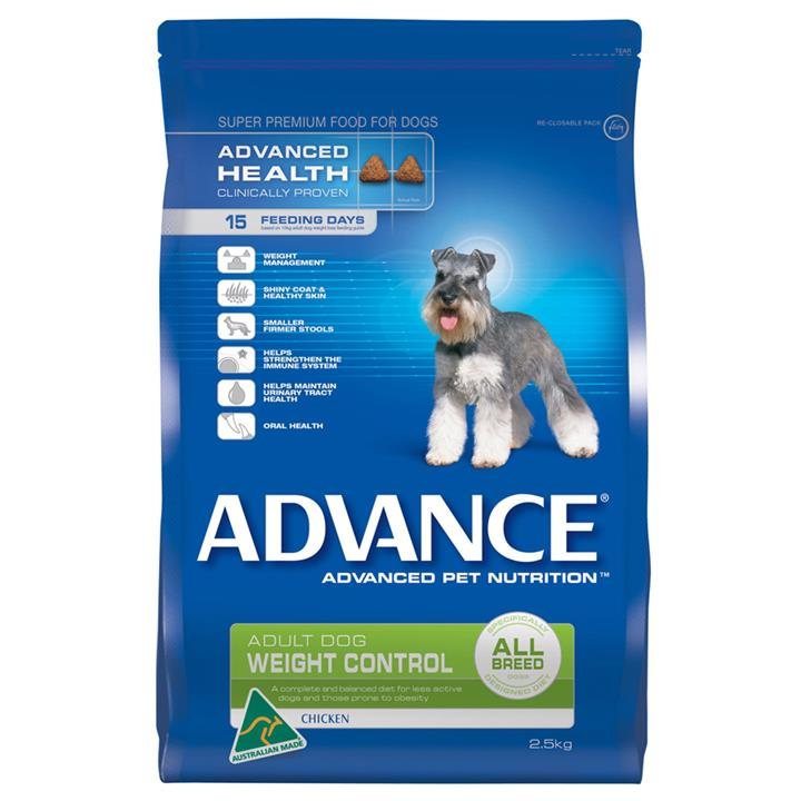 Image of Advance Adult Weight Control All Breeds 2.5kg