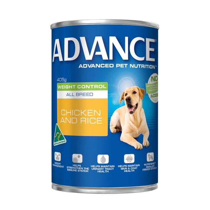 Image of Advance Adult Weight Control Cans 405g x 12
