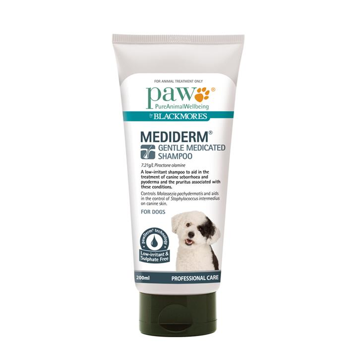 Image of Paw by Blackmores Mediderm Shampoo 500ml