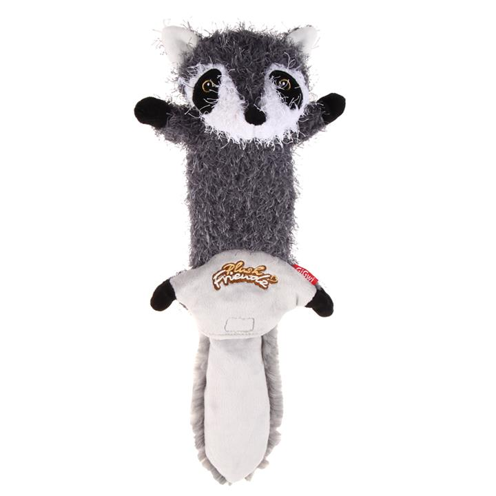 Image of Plush Raccoon Skin with Squeakers