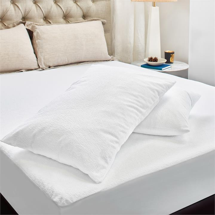Image of Terry Cotton Mattress Protection Value Pack