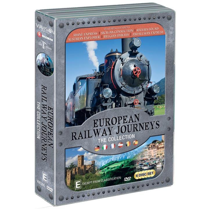 Image of European Railway Journeys