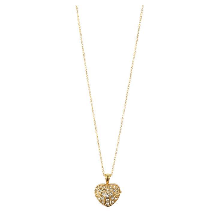 Image of Gold Heart Locket Pendant
