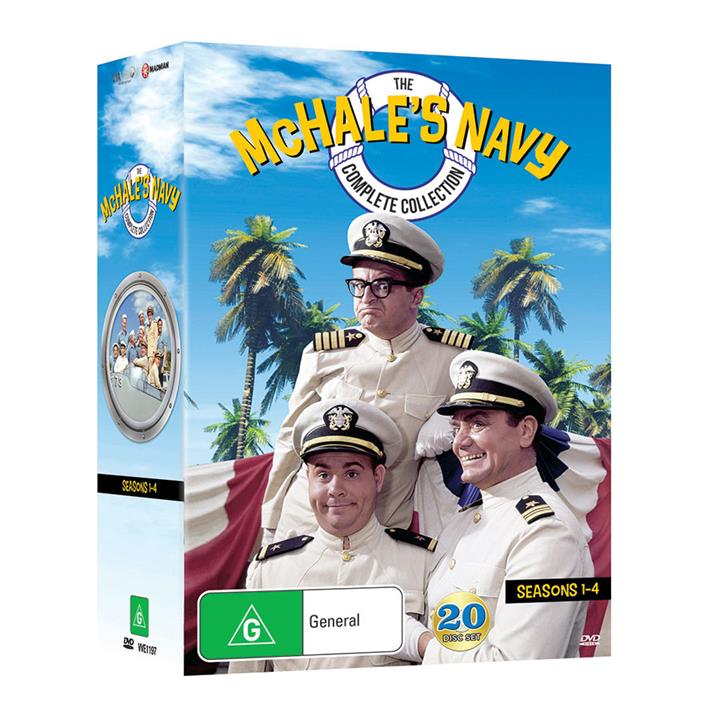 Image of McHale's Navy (1962) - Complete DVD Collection