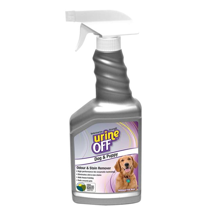 Image of Urine Off Dog & Puppy Stain & Odour Remover 500ml
