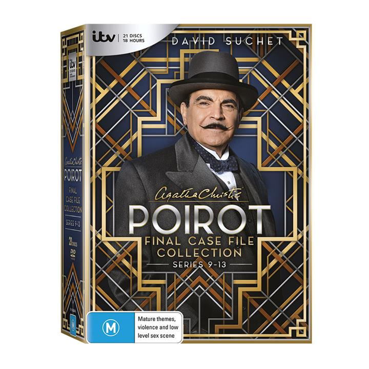 Image of Poirot - Final Case File (Series 9-13) DVD Collection