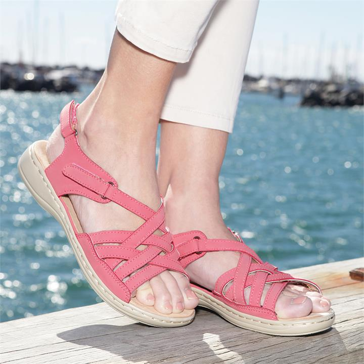 Image of Strappy Adjustable Sandals