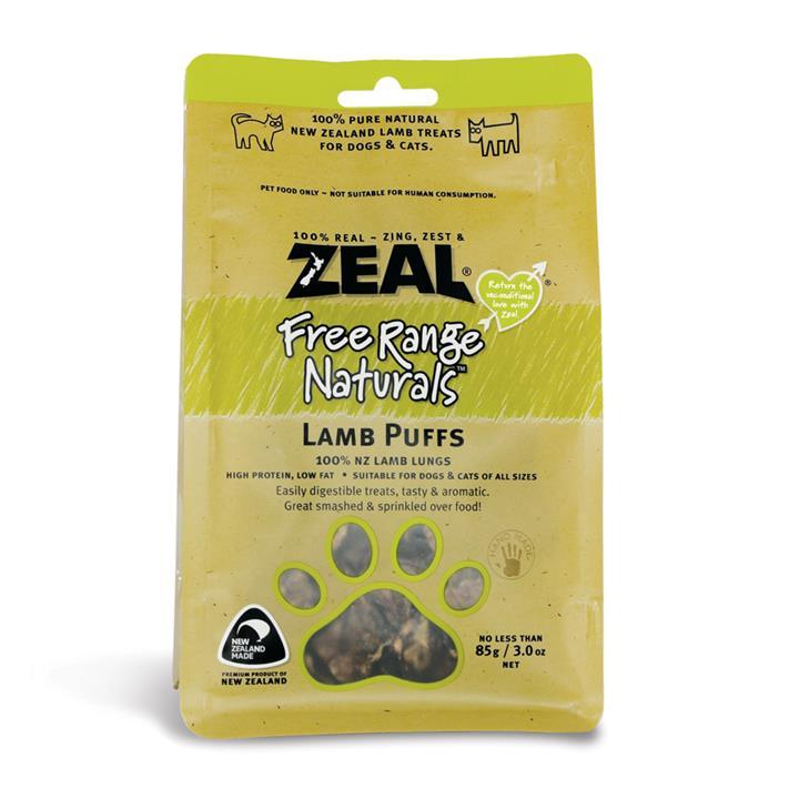 Image of Zeal Free Range Naturals Lamb Puffs 85g