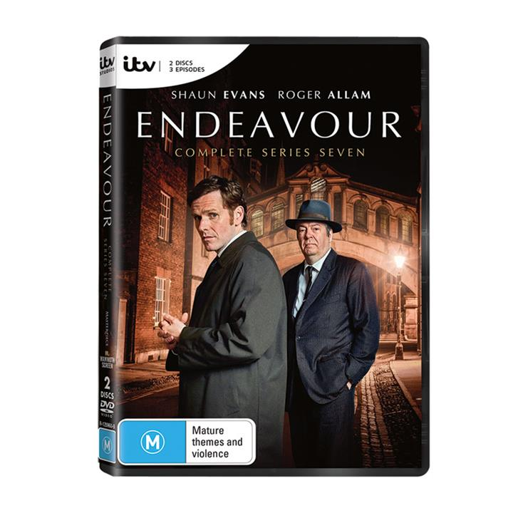 Image of Endeavour - Series 4 (2017) DVD