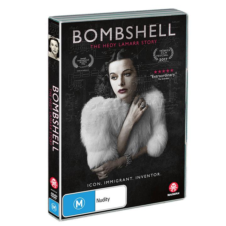 Image of Bombshell - The Hedy Lamarr Story (2017) DVD
