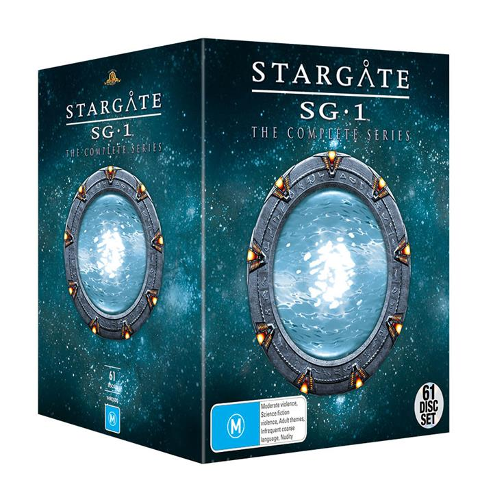 Image of Stargate SG-1 (1997) - Complete DVD Collection
