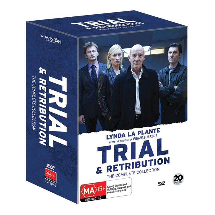 Image of Trial & Retribution - Collection Two (Seasons 8-10) DVD