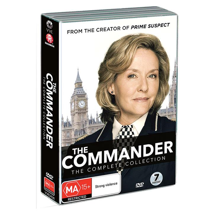 Image of The Commander (2003) - Complete DVD Collection (Series 1-5)