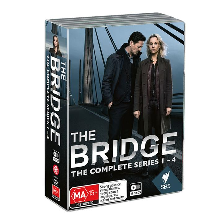 Image of The Bridge - Complete DVD Collection (Series 1-4)
