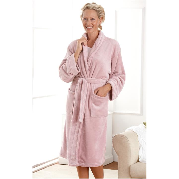 Image of Microplush Dressing Gown