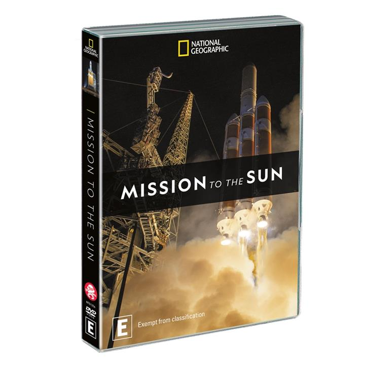 Image of Mission to the Sun (2018) DVD