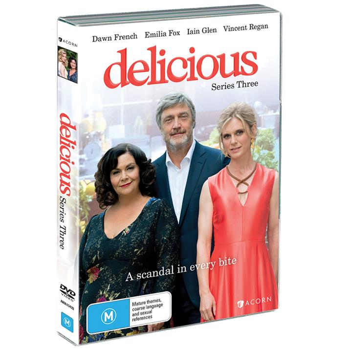 Image of Delicious - Series 3 (2018) DVD