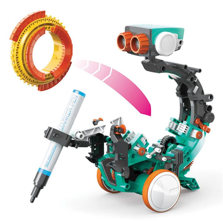 Image of 5 in 1 Mechanical Coding Robot