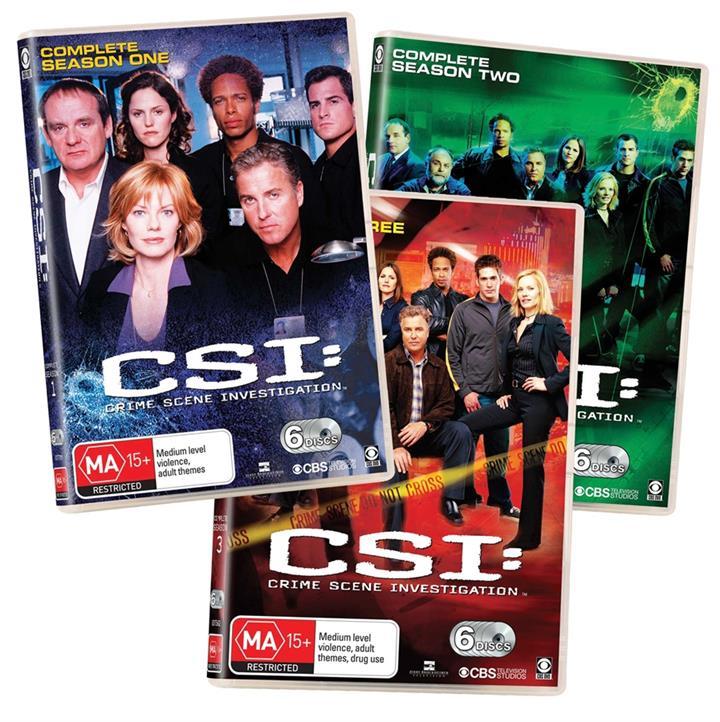 Image of CSI (2000) - Collection 1 (Seasons 1-3)