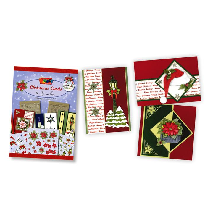 Image of 3D Christmas Cards Decoupage Book - Paper Crafts