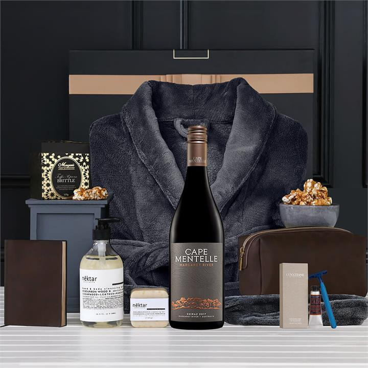 Gift : Men's Relax & Indulge with Red Wine Hamper