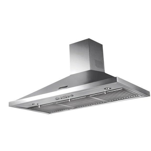 Falcon 90cm Canopy Rangehood - Stainless Steel