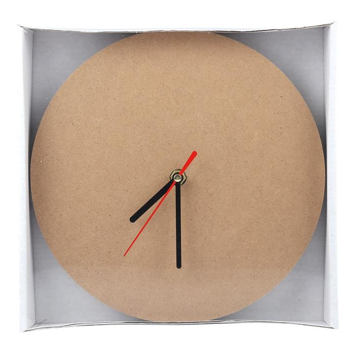Gift : Urban Crafter MDF Clock Base with Mechanism 23cm Diameter