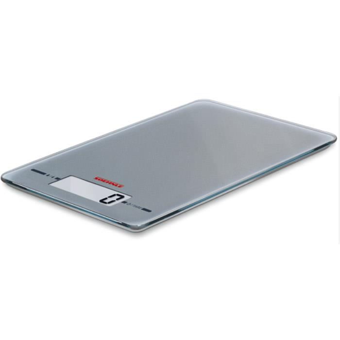 Soehnle Page Comfort Electronic Kitchen Scale 5kg/1gm/Ml Silver